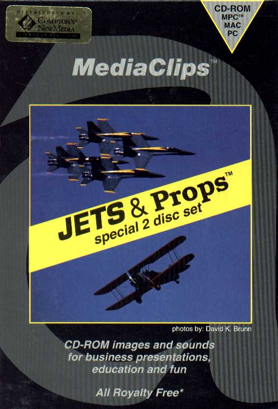 Packaging cover Jets & Props.