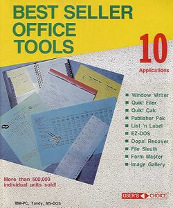 Packaging cover Best Seller Office Tools.