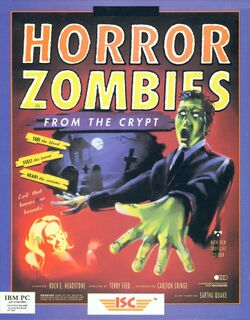 Packaging cover Horror Zombies From The Crypt.