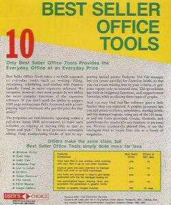 Retail Box back Best Seller Office Tools.