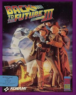 Packaging cover Back To The Future III.
