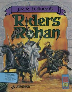 Packaging cover Riders Of Rohan.