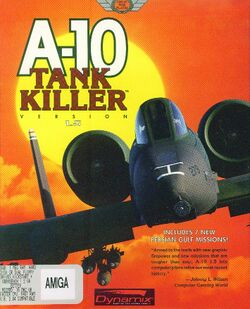 Packaging cover A-10 Tank Killer Version 1.5.
