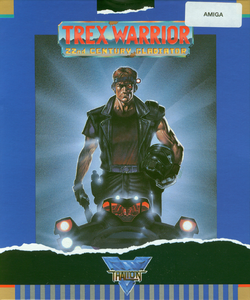 Packaging cover Trex Warrior.